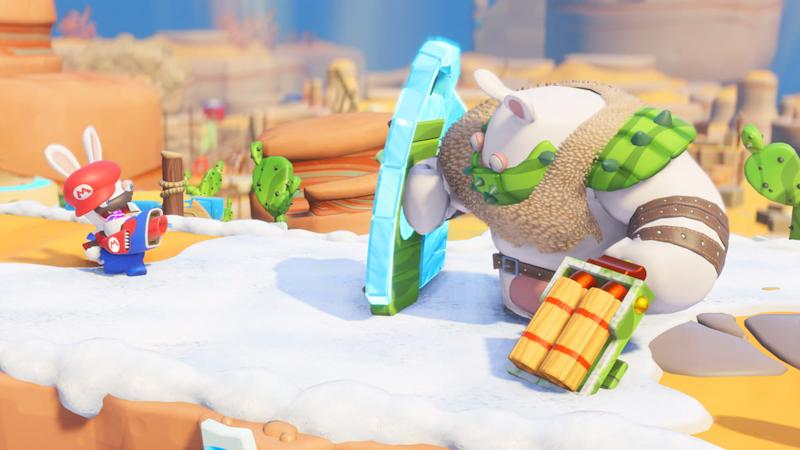 How Mario Kart Inspired Mario Rabbids Right Down To