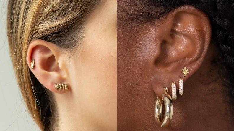 Studs specializes in earrings, including studs.