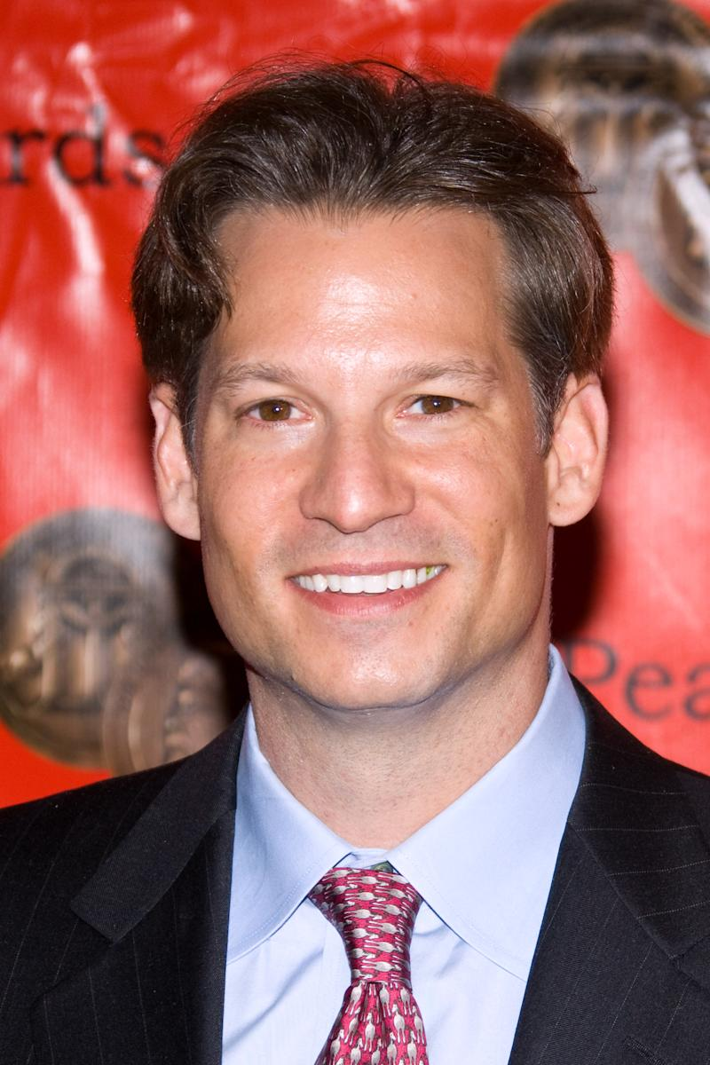 """FILE - In this Monday, May 18, 2009 file photo, Richard Engel attends the Peabody Awards held at the Waldorf Astoria in New York. NBC's chief foreign correspondent Richard Engel and his production team were released unharmed Tuesday, Dec. 18, 2012 after being held captive for five days inside Syria by an """"unknown group,"""" the network said. Engel, 39, has been reporting on the Syrian civil war, which has killed more than 40,000 people since March 2011. (AP Photo/Charles Sykes, File)"""