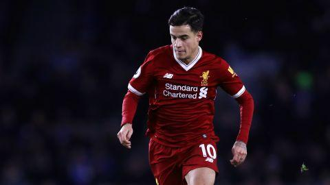 Philippe Coutinho Premier League Team of the Week