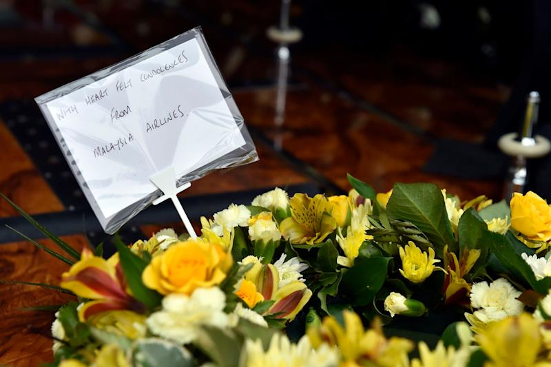 Tributes to those who died. (Photo: PA Archive/PA Images)