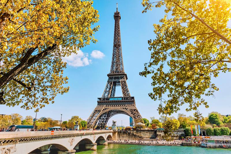 The Eiffel Tower in Paris, France: istock