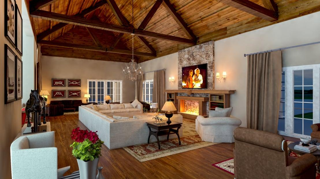 """<p>If you want an understated and rustic aesthetic, try to include as many natural materials as possible. They work well together and create an organic and stylish finish in any room, but we particularly like the effect in a<a rel=""""nofollow"""" href=""""http://www.homify.co.uk/rooms/living-room"""">living room</a>, as it has an inherent cosiness!</p>  Credits: homify / Éfeso Arquitetura & Construção"""