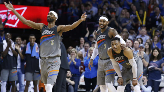Corey Brewer has been a nice addition for the Thunder. (AP)