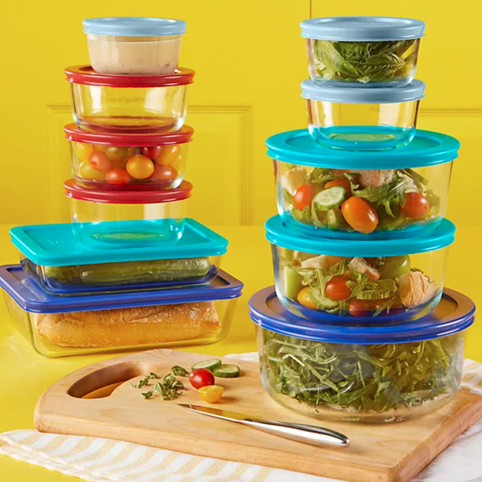 "<h2>Kohl's</h2><br><h3>Best Kitchenware Deals</h3><br><strong>Sale</strong>: 100s of deals, no coupons needed<br><strong>Dates</strong>: Now - April 11<br><br>Kohl's epic deals pricing event is officially on and we've got our eyes on top kitchen brands like Pyrex. But if you're itching for more the entire site is glittering with sales of all categories. <br><br><em>Shop</em> <strong><em><a href=""https://www.kohls.com/catalog/pyrex.jsp?CN=Brand:Pyrex&kls_sbp=07994292795614494589141575460147836903"" rel=""nofollow noopener"" target=""_blank"" data-ylk=""slk:Pyrex"" class=""link rapid-noclick-resp"">Pyrex</a></em></strong><br><br><br><strong>Pyrex</strong> 22-pc. Glass Food Storage Set, $, available at <a href=""https://go.skimresources.com/?id=30283X879131&url=https%3A%2F%2Fwww.kohls.com%2Fproduct%2Fprd-4420424%2Fpyrex-22-pc-glass-food-storage-set.jsp"" rel=""nofollow noopener"" target=""_blank"" data-ylk=""slk:Kohl's"" class=""link rapid-noclick-resp"">Kohl's</a>"