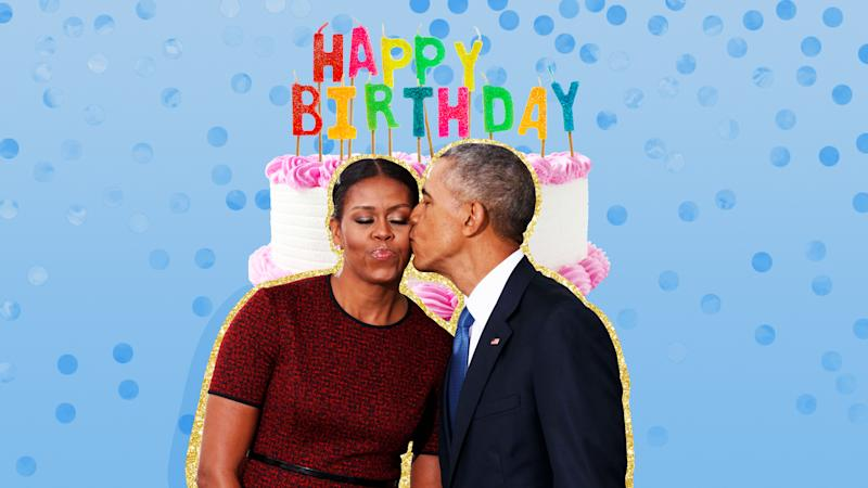 Michelle Obama Celebrates Her Birthday With a Double Rainbow and Waterproof Sneakers