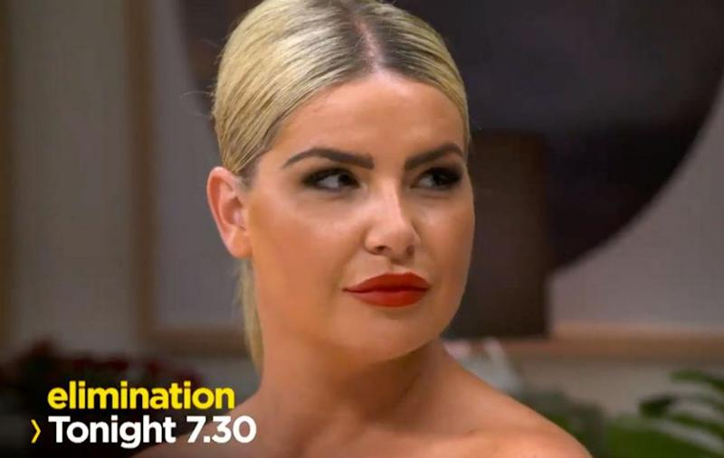 The latest My Kitchen Rules promo shows Jess not happy with some of the other contestants. Source: Channel Seven
