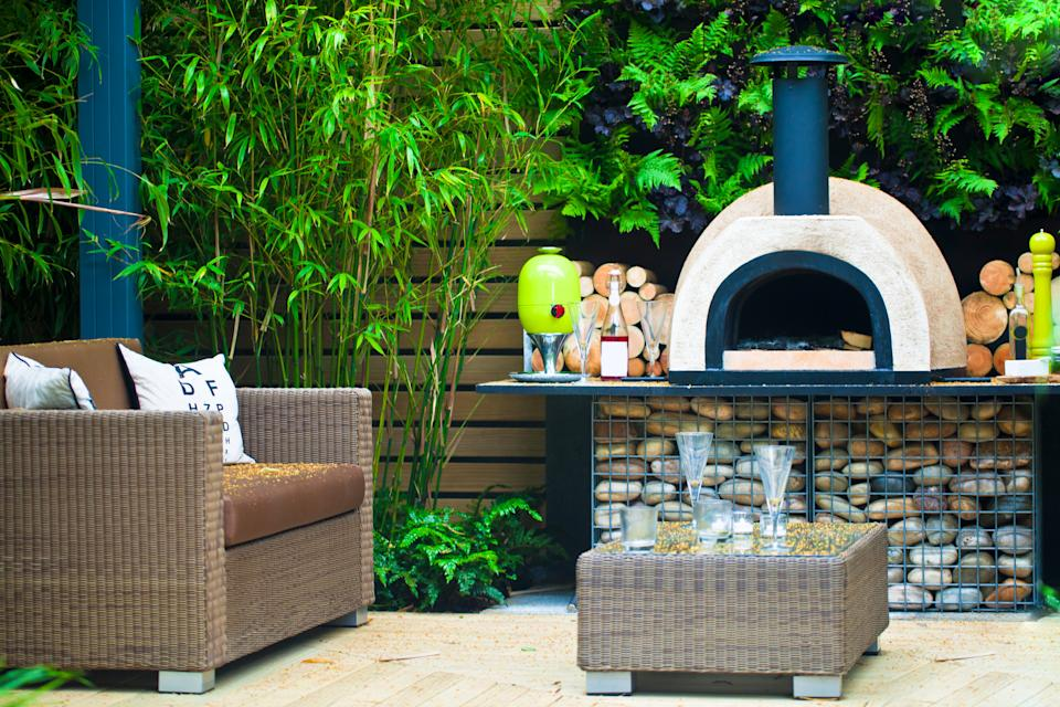 Pizza ovens proved popular garden additions during the pandemic. (Getty Images)