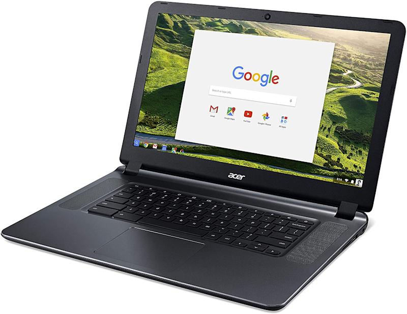 "Acer 15.6"" Chromebook, ICD N3060, 4GB, 16GB eMMC, Chrome, Gray, CB3-532-C42P-US"