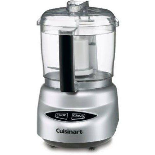 "<p><strong>Cuisinart</strong></p><p>amazon.com</p><p><strong>$39.95</strong></p><p><a href=""https://www.amazon.com/dp/B0000645YM?tag=syn-yahoo-20&ascsubtag=%5Bartid%7C10055.g.34198363%5Bsrc%7Cyahoo-us"" target=""_blank"">Shop Now</a></p><p><strong>Cuisinart ranked at the top of a past GHI test</strong>, and it did not let us down this year. The 3-cup bowl is a comfortable size for prepping many ingredients, and the option to chop or grind provided versatility. You can pulse or run in both chop and grind modes; use chop for, well, chopping ingredients like herbs, onions, meat and purees, and grind for spices (the blunt side of the blade is more gentle and won't muddy up the oils that release.) The lid includes two holes and a long well so you can add liquid when making dressings or mayonnaise. The two holes allows for air flow and reduces clogging. Available in chrome, red, pink and white.<br></p>"