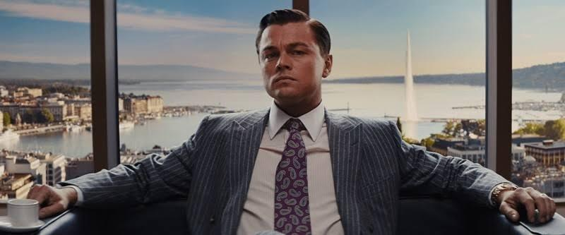 Pictured: Leonardo DiCaprio plays Jordan Belfort in the Wolf of Wall Street. Image: Paramount Pictures