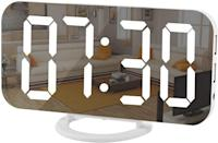 <p>Keep yourself accountable for waking up early with this stylish<span>Modern Mirror Surface LED Digital Alarm Clock with Diming Mode</span> ($21). It has three levels of brightness and dual USB ports.</p>
