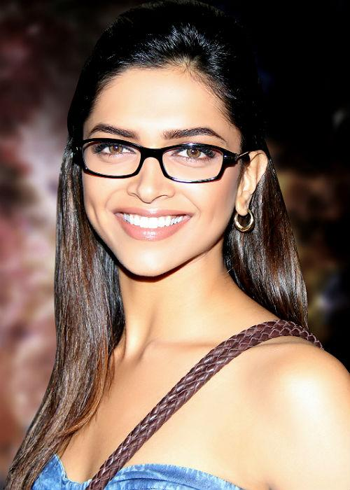 "<b>4. Deepika Padukone</b><br> ""I'm a white shirt, blue jeans kind of person."""
