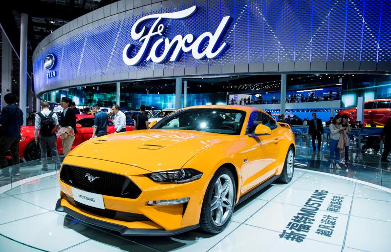 Ford China sales fall by more than 40 percent, again