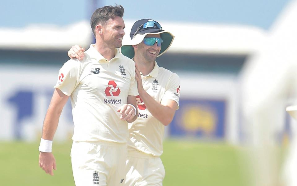 James Anderson -James Anderson's best bowling figures in Asia during mammoth Sri Lanka first innings