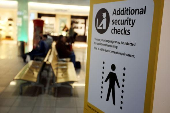 Most Brits back tougher security checks at airports