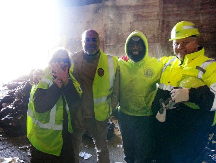 Sanitation workers in New York City helped this woman find her missing rings