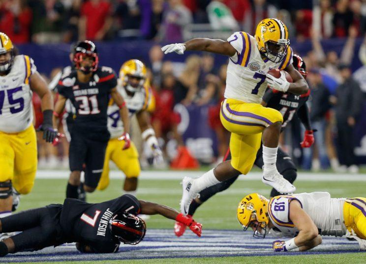 Leonard Fournette is expected to be the top running back selected in this year's draft. (AP)