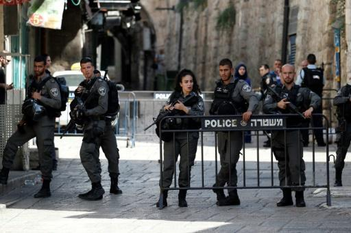 Two police killed near Jerusalem holy site, attackers shot dead