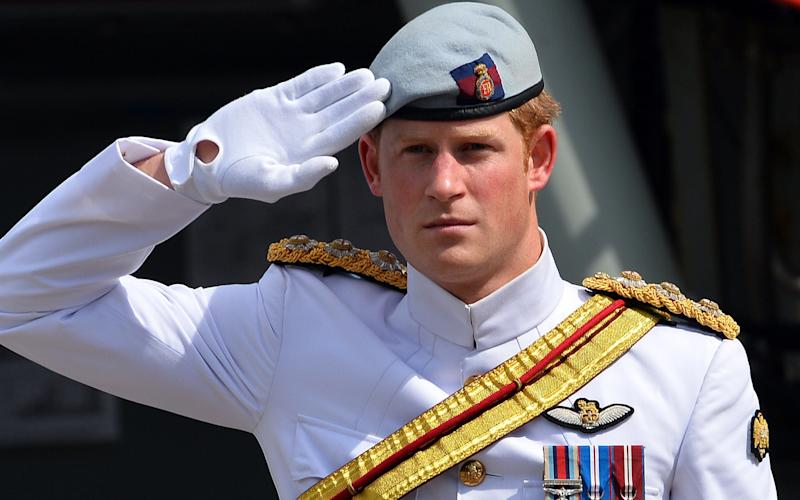 Prince Harry left the British Army in May 2015 after 10 years' service that saw him fight on the front line in Afghanistan twice - Credit:  AFP/Getty Images