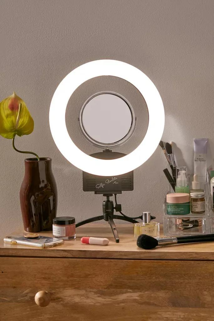 It's showtime, thanks to this pro-style ring light and tripod stand. (Photo: Urban Outfitters)