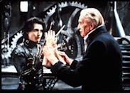 """<p>Everyone on set adored horror movie legend Vincent Price, who played the Inventor. And the part was written expressly for him. """"Tim especially honored, revered, and loved [Price] more than <i>anything</i>,"""" remembers Welch. """"You can feel it in the movie."""" Price died of lung cancer less than three years later at the age of 82.</p>"""