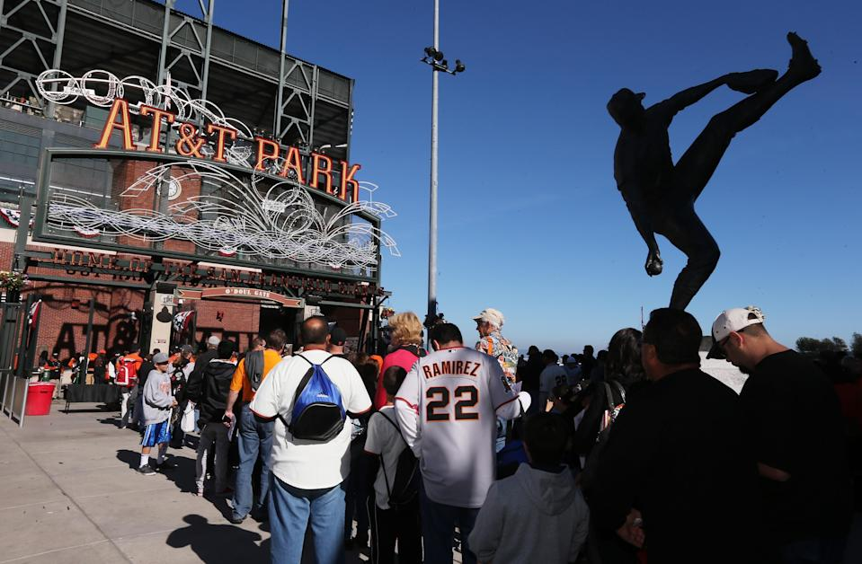 Select baseball stadiums across the country will implement biometric ticketing starting next season, allowing fans to enter the stadium using their fingerprints instead of a traditional ticket. (Getty Images)