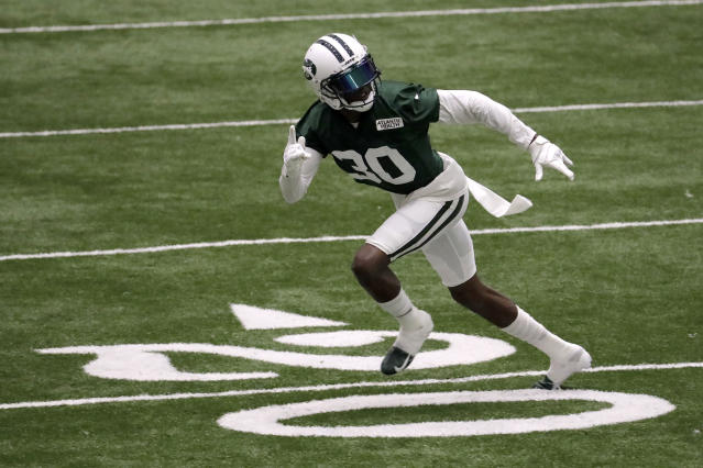 Free agent cornerback Rashard Robinson, who spent last season with the New York Jets, has been suspended by the NFL. (AP)