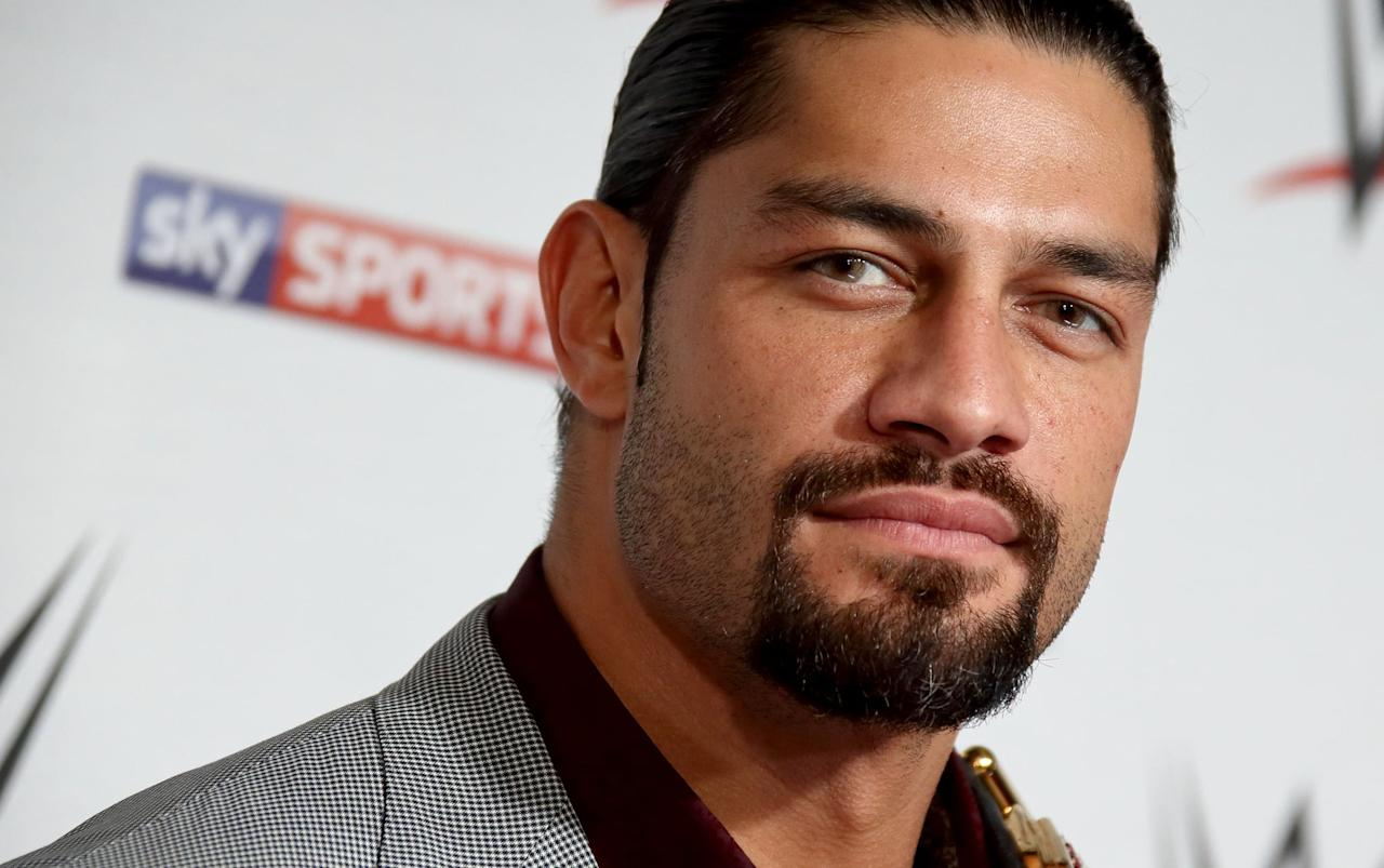 """<p>Roman Reigns is making waves in Hollywood thanks to his role in <strong>Hobbs and Shaw</strong>, but how much do you know about him? Get to know more about the tall drink of water ahead!<br> <a href=""""https://www.popsugar.com/celebrity/Who-Roman-Reigns-46490063"""" class=""""shopnow ga-track"""" target=""""_blank"""" data-ga-category=""""Related"""" data-ga-label=""""https://www.popsugar.com/celebrity/Who-Roman-Reigns-46490063"""" data-ga-action=""""In-Line Links"""">Read More</a></p>"""