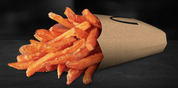 <p>We're pretty sure these need no further introduction, but this tops the list of foreign fast food items we <em>need</em> in the U.S. on a regular basis. The sweet potato snack has made a few brief appearances at a number of American locations, but it has yet to be promoted to a full-time position on the menu.</p>