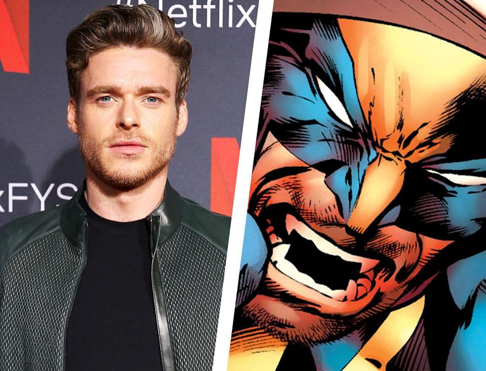 """<p>Another choice with some experience in the 'massive franchise' game, Richard Madden is best known for his role as Robb Stark in <em>Game of Thrones</em>, but he also won a Golden Globe earlier this year for his role in Netflix's Bodyguard, appeared in <em>Rocketman</em>, and has been rumored to be involved for a role in Marvel's <em><a href=""""https://variety.com/2019/film/news/richard-madden-eternals-1203207844/"""" rel=""""nofollow noopener"""" target=""""_blank"""" data-ylk=""""slk:The Eternals"""" class=""""link rapid-noclick-resp"""">The Eternals</a></em>. </p><p>While that last one would probably rule him out for consideration for Wolverine, let's make our quick pitch for Madden as the latest Weapon X. Above all else (and he's certainly a great actor, too), Madden has The Look, much like Jackman did. You don't need much dialogue from Madden—just a look will do—which is part of what made Jackman's Wolverine so great;<a href=""""https://boundingintocomics.com/files/2018/11/Wolverine-5.png"""" rel=""""nofollow noopener"""" target=""""_blank"""" data-ylk=""""slk:a look could kill"""" class=""""link rapid-noclick-resp""""> a look could kill</a>.</p>"""