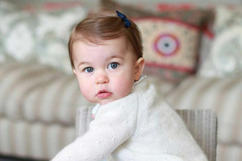 Princess Charlotte snapped by the Duchess of Cambridge ahead of her first birthday (The Duchess of Cambridge)