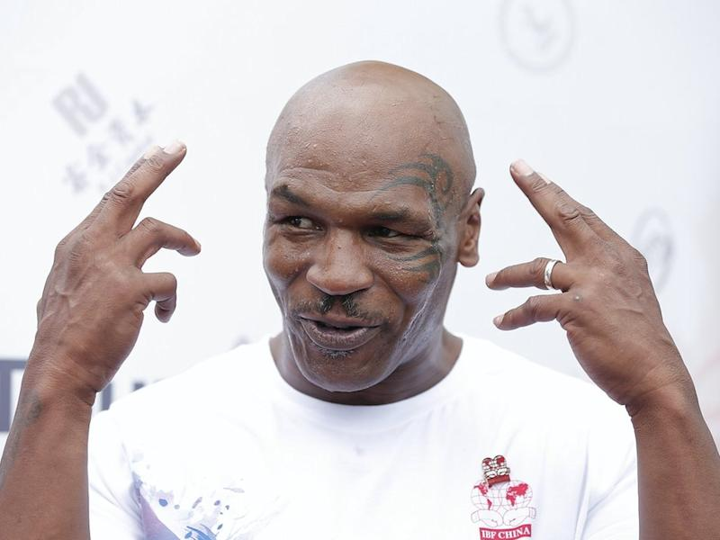 Mike Tyson breaks ground on California marijuana farm and resort