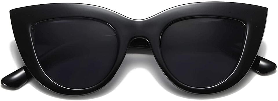 <p>Does Moira go anywhere without her <span>Vintage Cat-Eye Sunglasses</span> ($11, originally $29)? Yes, but whoever receives this gift won't want to. </p>