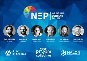 NEP launches new business segment with the acquisition of three industry-leading companies in real-time virtual production for film and TV: Prsym Collective, Lux Machina, and Halon Entertainment.
