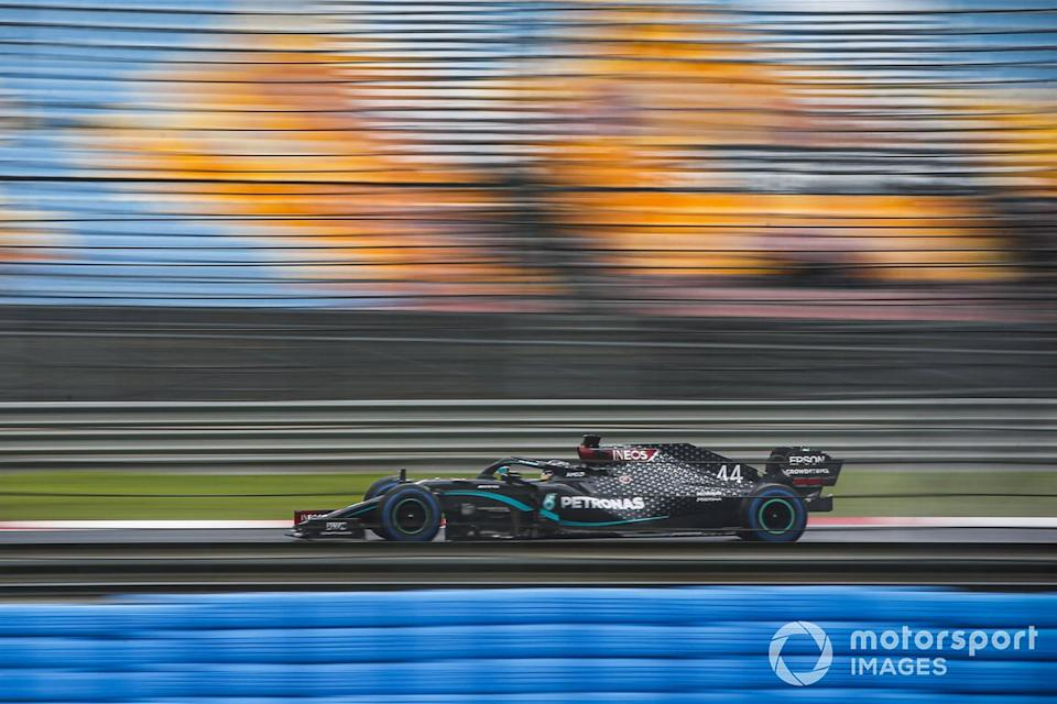 """Lewis Hamilton, Mercedes F1 W11<span class=""""copyright"""">Andy Hone / Motorsport Images</span>"""