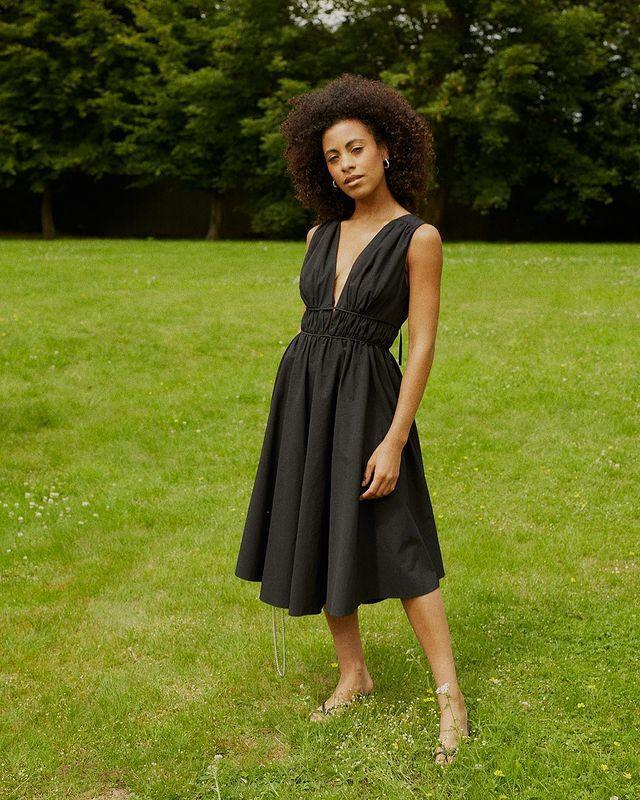 """<p>Who: Abbey Gregg</p><p>What: 'ALYDA is a petite womenswear brand that ethically produces timeless clothing for the modern woman under 5'4""""'</p><p><a class=""""link rapid-noclick-resp"""" href=""""https://www.alyda.co.uk/"""" rel=""""nofollow noopener"""" target=""""_blank"""" data-ylk=""""slk:SHOP ALYDA NOW"""">SHOP ALYDA NOW</a></p><p><a href=""""https://www.instagram.com/p/CUdTMt5AZ14/"""" rel=""""nofollow noopener"""" target=""""_blank"""" data-ylk=""""slk:See the original post on Instagram"""" class=""""link rapid-noclick-resp"""">See the original post on Instagram</a></p>"""