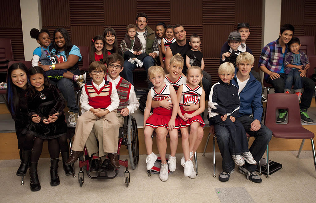 In Season 2, Mr. Schue imagined his New Directions gleeks as 5-year-olds. The casting of the younger versions was pretty good, with particular props going to Mini Puck and Mini Rachel. But the best resemblance was...