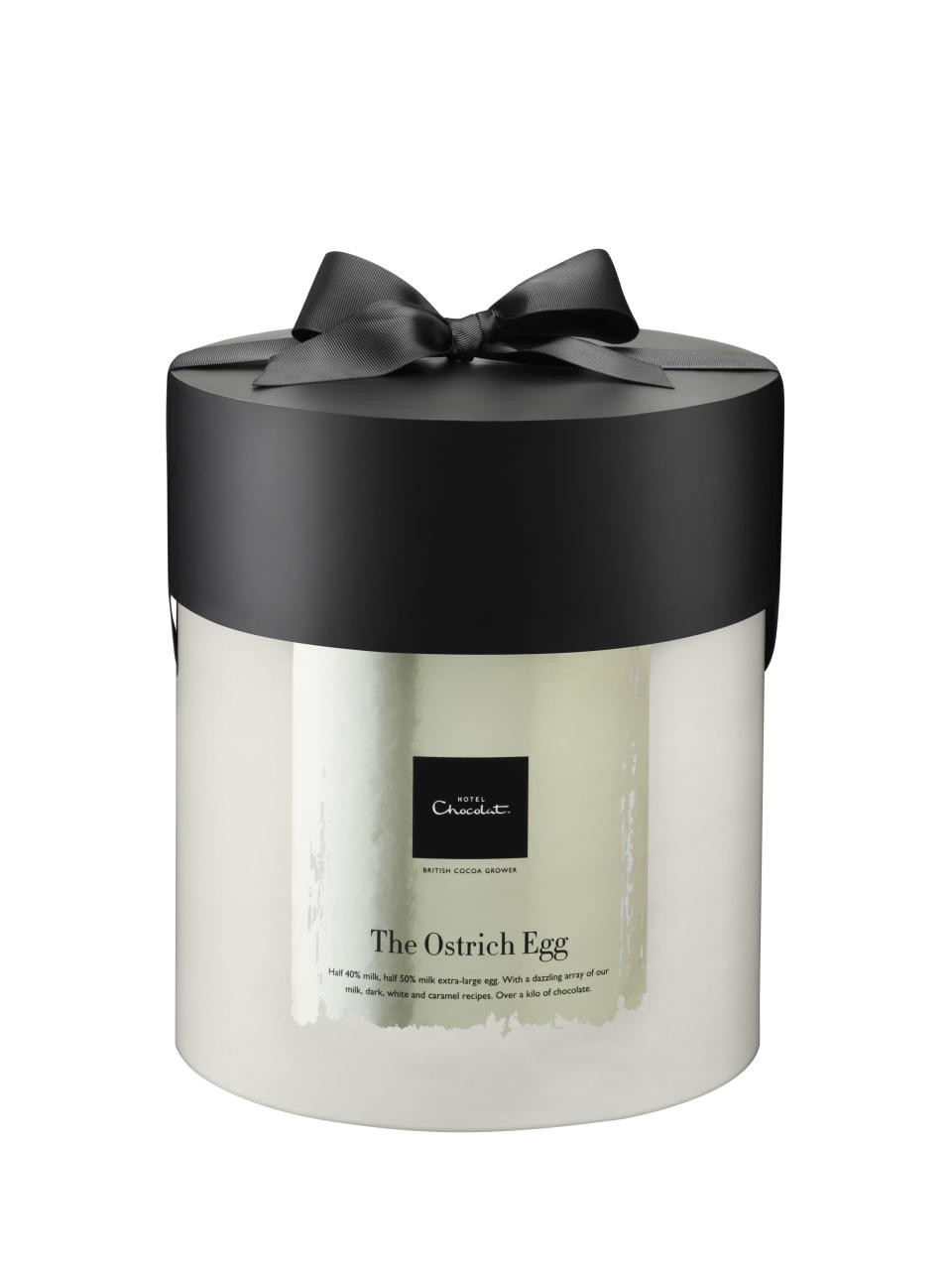 The Luxury Ostrich Egg from Hotel Chocolat [Photo: Hotel Chocolat]