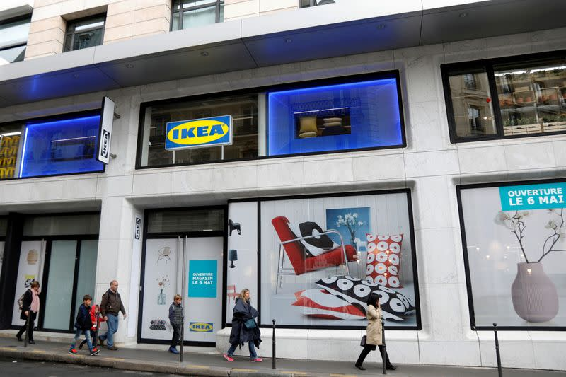 FILE PHOTO: General view of a Swedish furniture giant IKEA store which will open in the heart of Paris