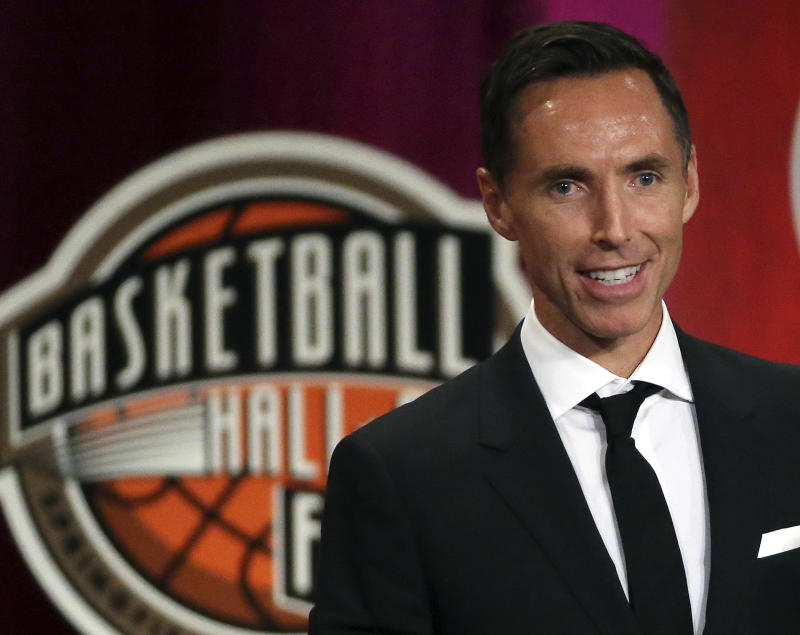 Brooklyn Nets coach Steve Nash