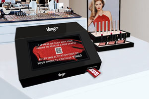 Vengo extends contactless sampling and trials in beauty retail with new countertop model