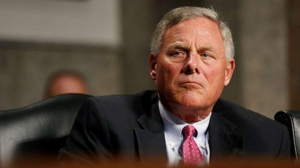 PHOTO: Senate Intelligence Committee Chairman Richard Burr listens during a Senate Intelligence Committee hearing on foreign influence operations on social media platforms on Capitol Hill in Washington, Sept. 5, 2018. (Joshua Roberts/Reuters, FILE)