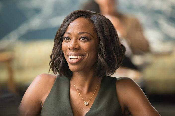 """Yvonne Orji in 'Insecure' <span class=""""copyright"""">Justina Mintz—HBO</span>"""