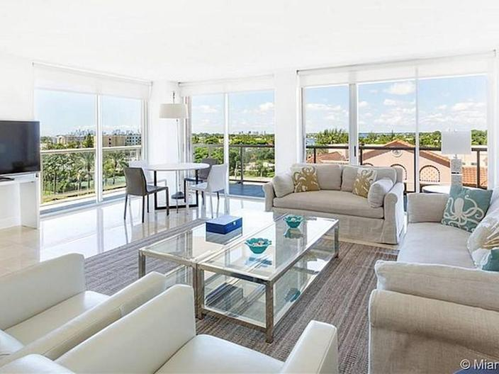 Champlain Towers East condo that was for sale before realtor took it down due to hate mail.