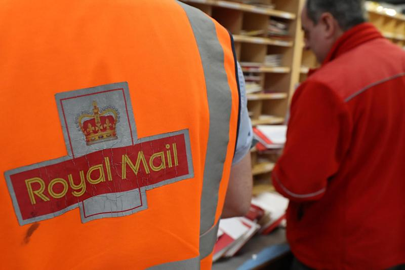 The result of a ballot for strikes by Royal Mail workers in a bitter dispute over pensions, pay and jobs has been announced: PA Wire/PA Images