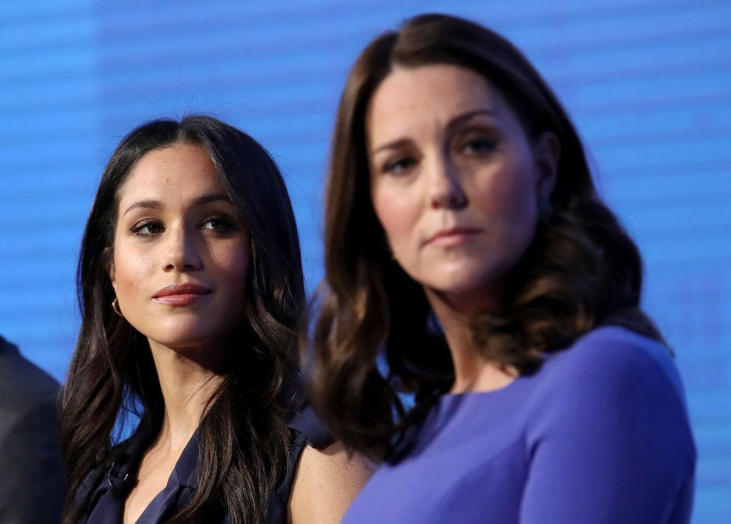 "<p>Again — this is pretty big for Markle, who will soon be a prominent senior member of the royal family, to make such opinionated remarks on two major political movements. <a rel=""nofollow"" href=""https://ca.style.yahoo.com/kate-middletons-top-pregnancy-style-slideshow-wp-155058412/photo-p-strong-feb-18-2018-photo-151058646.html"">Not even Kate Middleton wore black in solidarity with other stars at the 2018 BAFTAs</a>, presumably in effort to keep up with protocol. If there was any protocol a royal should break, this would be a worthy one — don't you think? <em>(Photo: Getty)</em> </p>"