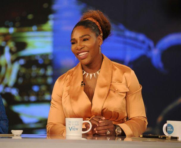 PHOTO: Serena Williams is the guest Tuesday, May 1, 2018, on ABC's 'The View.' (Paula Lobo/ABC)