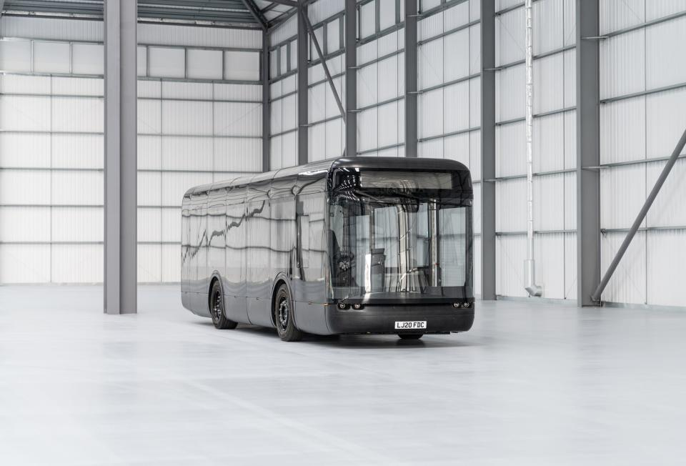 Arrival's electric bus. Photo: Arrival