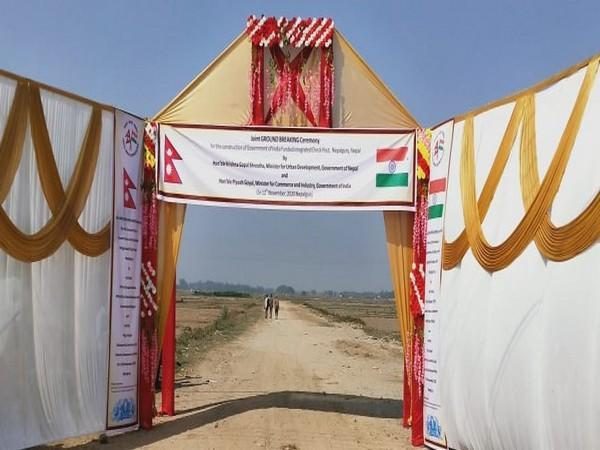 The construction of an Integrated Check Post (ICP) at Nepal's Nepalgunj began on Thursday.